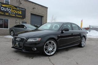Used 2012 Audi A4 2.0T,S LINE PRESTIGE, NAVI, SUNROOF PARKING SENSORS for sale in Newmarket, ON