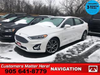 Used 2019 Ford Fusion Titanium  HYBRID NAV ROOF LEATH P/SEAT for sale in St. Catharines, ON