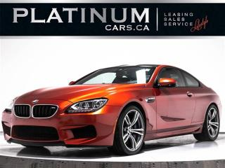 Used 2013 BMW M6 COUPE, 560HP, EXEC. PKG, NAV, CARBON, HUD, HEATED for sale in Toronto, ON