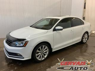 Used 2015 Volkswagen Jetta Comfortline Sport Tsi Toit Ouvrant Caméra Mags for sale in Trois-Rivières, QC