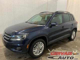 Used 2016 Volkswagen Tiguan Special Edition 4Motion AWD Toit panoramique Caméra Mags *Traction intégrale* for sale in Trois-Rivières, QC