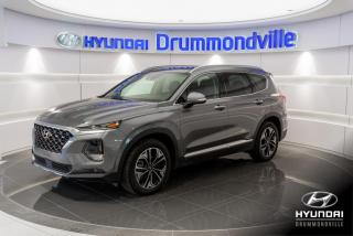 Used 2019 Hyundai Santa Fe ULTIMATE AWD + GARANTIE 8 ANS + HUD + BL for sale in Drummondville, QC