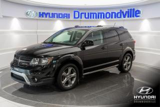 Used 2016 Dodge Journey CROSSROAD + NAVI + TOIT + ALPINE + GARAN for sale in Drummondville, QC