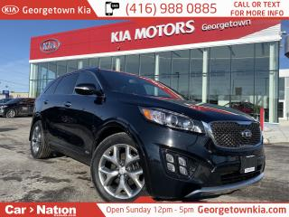 Used 2018 Kia Sorento SX | TURBO | NAVI | PANO ROOF | ONE OWNER | for sale in Georgetown, ON