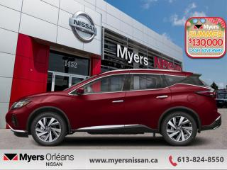 New 2020 Nissan Murano SL  -  - FREIGHT - AC TAX for sale in Orleans, ON