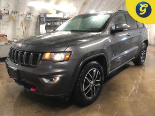 Used 2018 Jeep Grand Cherokee TrailHawk * 4X4 * Power sunroof * Navigation * Leather/Ruby Red Accents/Suede vented seats * 8.4 inc Touch Screen * Back up camera with park assist * for sale in Cambridge, ON