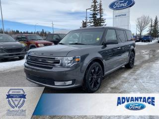Used 2019 Ford Flex SEL Clean Carfax - Vista Roof - Voice Activated Navigation - Remote Start for sale in Calgary, AB