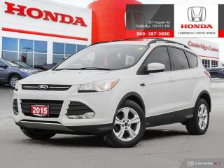 Used 2015 Ford Escape LEATHER INTERIOR | SECURICODE KEYLESS ENTRY KEYPAD | HEATED FRONT SEATS for sale in Cambridge, ON