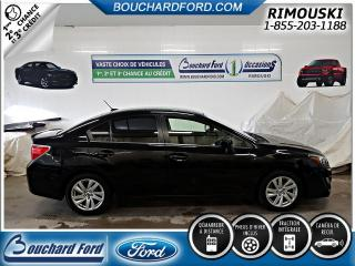 Used 2015 Subaru Impreza 2,0i avec groupe sport for sale in Rimouski, QC