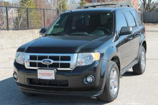 Used 2011 Ford Escape XLT Automatic 4x4   V6   Leather   CERTIFIED for sale in Waterloo, ON
