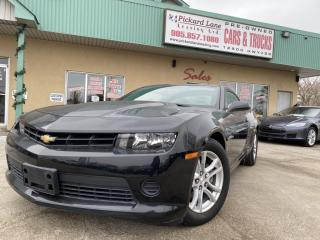 Used 2015 Chevrolet Camaro $182.40 BI WEEKLY! $0 DOWN! CERTIFIED||ALLOYS||2LS!! for sale in Bolton, ON