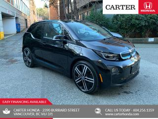 Used 2017 BMW i3 w/Range Extender + PARK ASSIST + TECH + MOONROOF for sale in Vancouver, BC