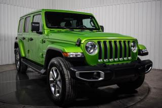 Used 2019 Jeep Wrangler UNLIMITED SAHARA 4WD COLOR MATCH MAGS for sale in St-Hubert, QC