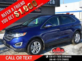 Used 2015 Ford Edge SEL LOADED!! HEATED SEATS!! BACK UP CAMERA AND LOTS MORE!! for sale in Saskatoon, SK