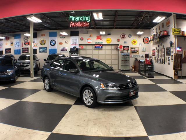 2016 Volkswagen Jetta Sedan 1.4TSI TRENDLINE 5 SPEED SUNROOF BACKUP CAMERA 64K