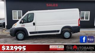 Used 2016 RAM ProMaster 1500, cargo van, work van, panel van for sale in Saint John, NB