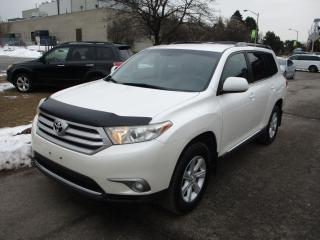 Used 2013 Toyota Highlander ~BACK UP CAM.~7 PASS.~EXTRA CLEAN~POWER GATE~ for sale in Toronto, ON