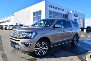 New 2020 Ford Expedition Platinum Max 4dr 4WD Sport Utility for sale in Peace River, AB