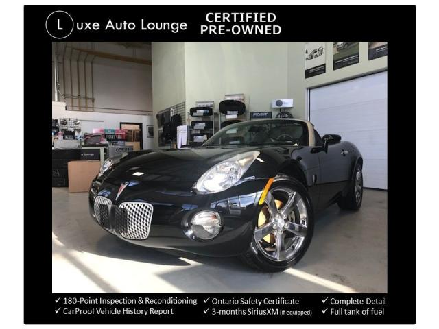 2007 Pontiac Solstice SUPER RARE! LOW MILEAGE! EXCELLENT SHAPE! 5SPD!!