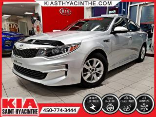 Used 2017 Kia Optima LX ** SIÈGES CHAUFFANTS / BLUETOOTH for sale in St-Hyacinthe, QC