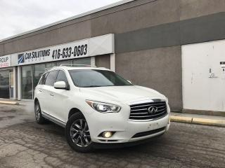 Used 2013 Infiniti JX35 NAVIGATION-SUNROOF for sale in Toronto, ON