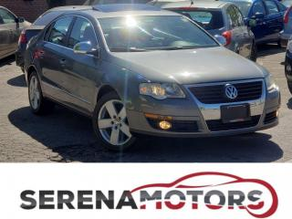 Used 2008 Volkswagen Passat TRANDLINE | SUNROOF | LEATHER | NO ACCIDENTS for sale in Mississauga, ON