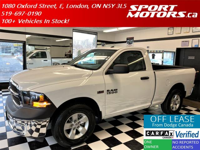 2016 RAM 1500 ST 5.7L V8+New Tires+Cruise Control+Accident Free