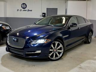 Used 2016 Jaguar XJ XJL PORTFOLIO|MASSAGE CHAIRS|ACCIDENT FREE| for sale in Oakville, ON