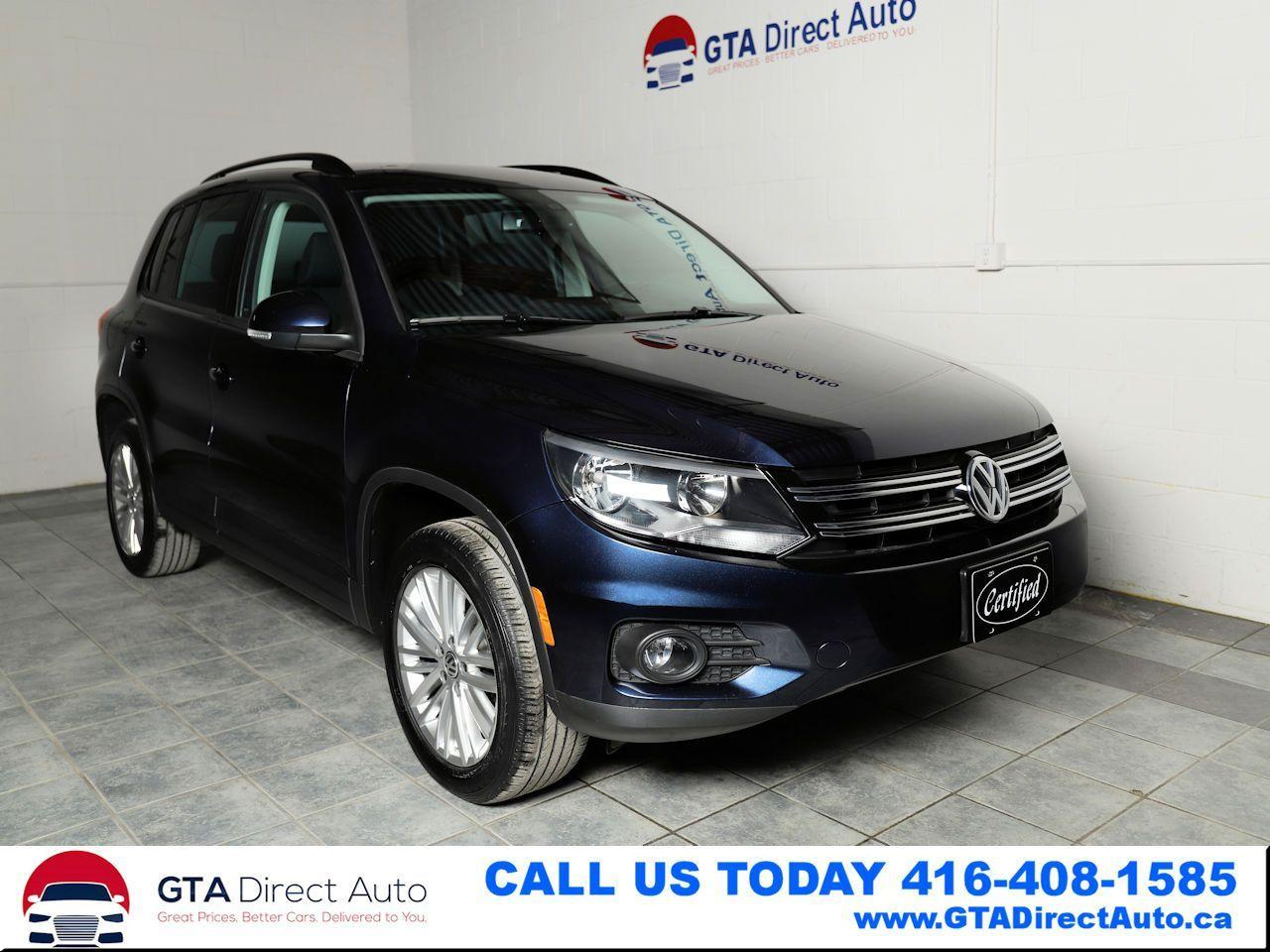 2016 Volkswagen Tiguan Special Edition 4Motion AWD Camera Heatd Certified