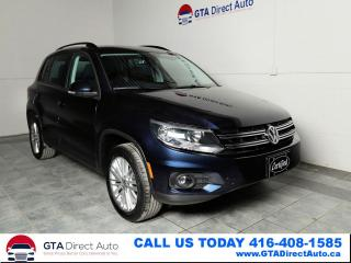Used 2016 Volkswagen Tiguan Special Edition 4Motion AWD Camera Heatd Certified for sale in Toronto, ON