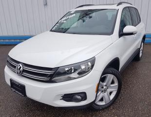 Used 2016 Volkswagen Tiguan Comfortline AWD *LEATHER-SUNROOF* for sale in Kitchener, ON