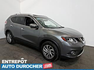 Used 2015 Nissan Rogue SL NAVIGATION - Toit Ouvrant - A/C - CUIR for sale in Laval, QC