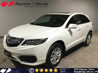 Used 2016 Acura RDX Tech| Leather| Navi| All-Wheel Drive| for sale in Woodbridge, ON
