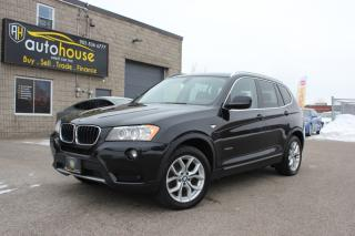 Used 2013 BMW X3 x Drive 28i Navi 360 Backup Cam/ Sensors Bluetooth Sunroof for sale in Newmarket, ON