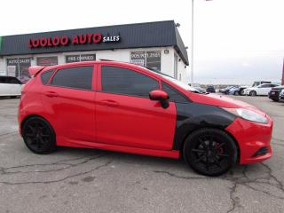 Used 2015 Ford Fiesta ST Hatchback TURBO 6 SPEED Navigation CERTIFIED for sale in Milton, ON