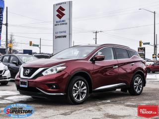 Used 2015 Nissan Murano SV AWD ~Nav ~Cam ~Panoramic Roof ~Heated Seats for sale in Barrie, ON