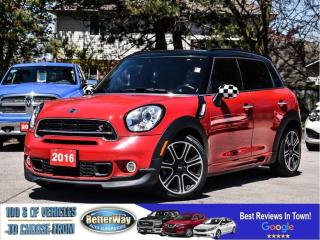 Used 2016 MINI Cooper Countryman S COUNTRYMAN S |LEATHER |SUNROOF |6 SPEED MANUAL | for sale in Stoney Creek, ON
