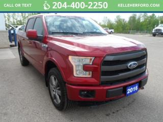 Used 2016 Ford F-150 Lariat for sale in Brandon, MB