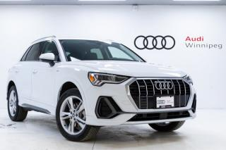 New 2020 Audi Q3 Technik w/Wireless Charging *DEMO* for sale in Winnipeg, MB