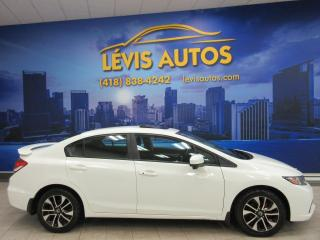 Used 2015 Honda Civic EX 87700KM TOIT OUVRANT MAGS CAMERA BLUE for sale in Lévis, QC