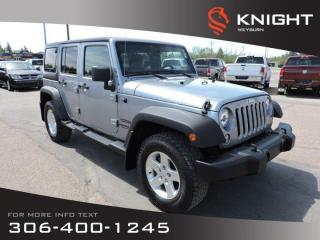 Used 2014 Jeep Wrangler UNLIMITED SPORT for sale in Weyburn, SK