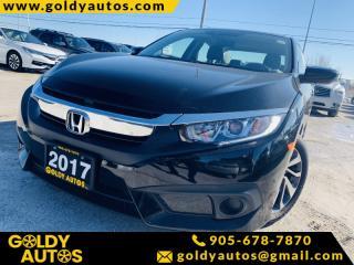 Used 2017 Honda Civic SEDAN EX 4dr CVT EX for sale in Mississauga, ON