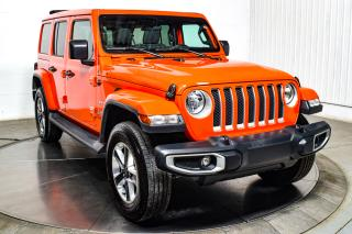 Used 2019 Jeep Wrangler UNLIMITED SAHARA 4WD TOIT ELECTRIQUE MAG for sale in Île-Perrot, QC