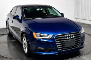 Used 2016 Audi A3 2.0T QUATTRO CUIR TOIT for sale in Île-Perrot, QC