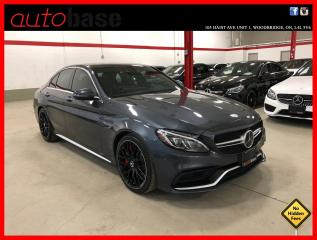 Used 2016 Mercedes-Benz C-Class C63 S AMG PERFORMANCE SEATS DISTRONIC HUD PREMIUM 360 for sale in Vaughan, ON