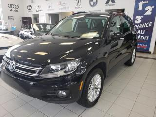 Used 2016 Volkswagen Tiguan COMFORTLINE / 4 MOTION / TSI / CAMERA / for sale in Sherbrooke, QC