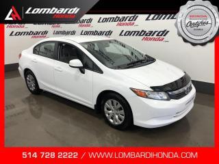 Used 2012 Honda Civic LX AUTOMATIQUE  for sale in Montréal, QC
