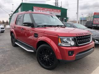 Used 2015 Land Rover LR4 HSE LUXURY 7 Pass NAV for sale in Burlington, ON
