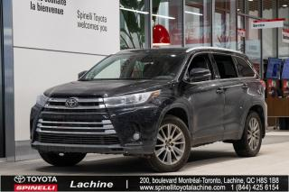 Used 2018 Toyota Highlander XLE AWD SIÈGES CHAUFFANT! BLUETOOTH! MAGS! TOIT OUVRANT! CAMÉRA DE RECUL! SUPER PRIX! FAITES VITE! for sale in Lachine, QC