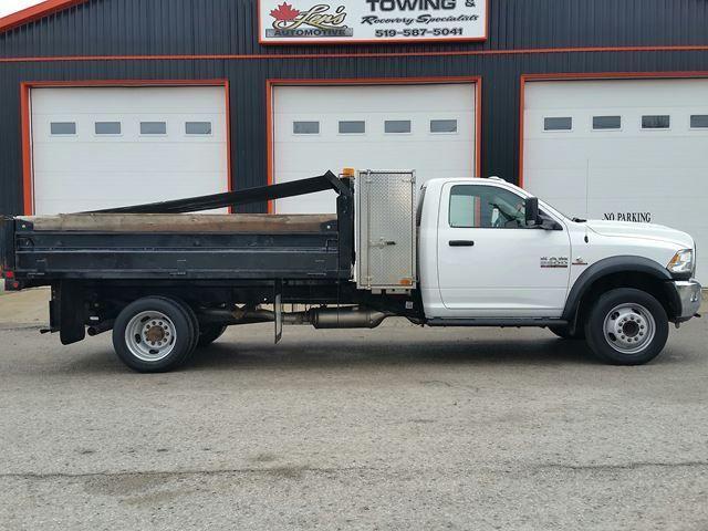 2017 RAM 5500 ST Diesel Dump Truck 4x4